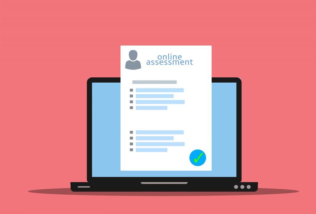 assessment, online, exam